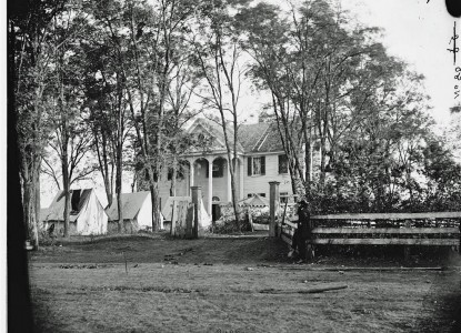 An archival photo of Howard Place (Mayhurst), from mayhurstinn.com
